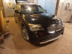 кузовной ремонт BMW X1 фото-15