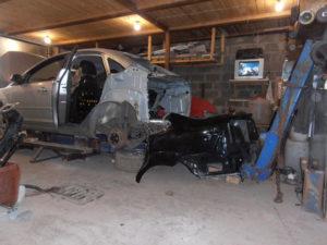 кузовной ремонт FORD FOCUS II фото-2