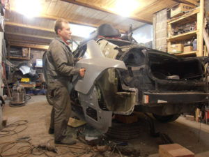 кузовной ремонт KIA MAGENTIS фото-9