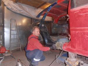 кузовной ремонт CHEVROLET LACETTI УНИВЕРСАЛ фото-14