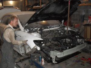 кузовной ремонт FORD MONDEO фото-12