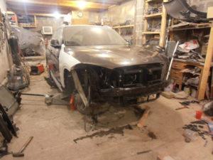 кузовной ремонт BMW X1 фото-9
