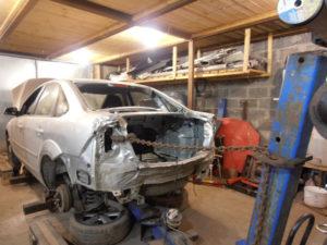 кузовной ремонт FORD FOCUS II фото-9