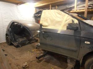 кузовной ремонт HYUNDAI GETS фото-9