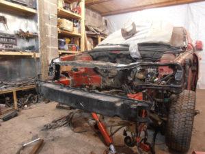 кузовной ремонт CHEVROLET LACETTI фото-4