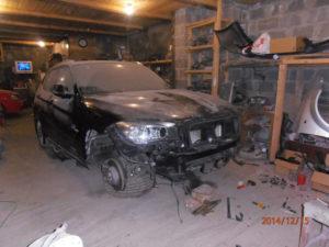 кузовной ремонт BMW X1 фото-11