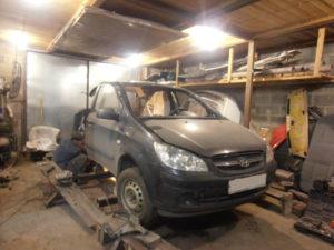 кузовной ремонт HYUNDAI GETS фото-6
