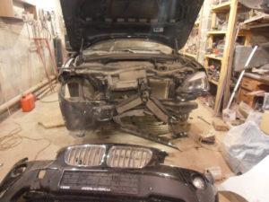 кузовной ремонт BMW X1 фото-4