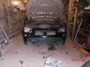 кузовной ремонт BMW X1 фото-13