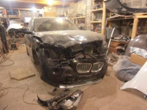 кузовной ремонт BMW X1 фото-3