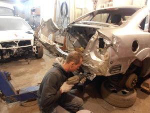 кузовной ремонт FORD FOCUS II фото-6