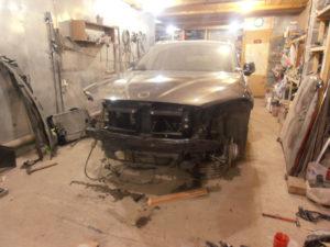 кузовной ремонт BMW X1 фото-10