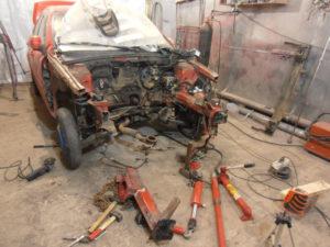 кузовной ремонт CHEVROLET LACETTI фото-3