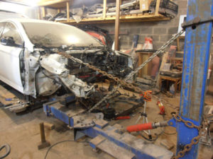 кузовной ремонт FORD MONDEO фото-6