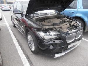 кузовной ремонт BMW X1 фото-1