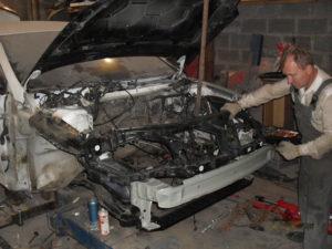 кузовной ремонт FORD MONDEO фото-11
