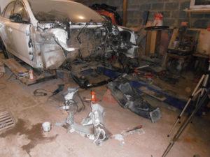 кузовной ремонт FORD MONDEO фото-8