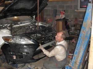 кузовной ремонт FORD MONDEO фото-13