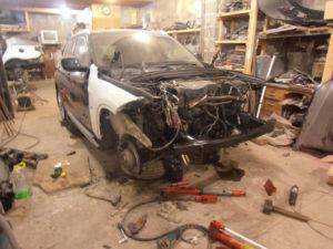 кузовной ремонт BMW X1 фото-7