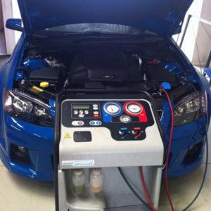 Фото ремонта кондиционера авто