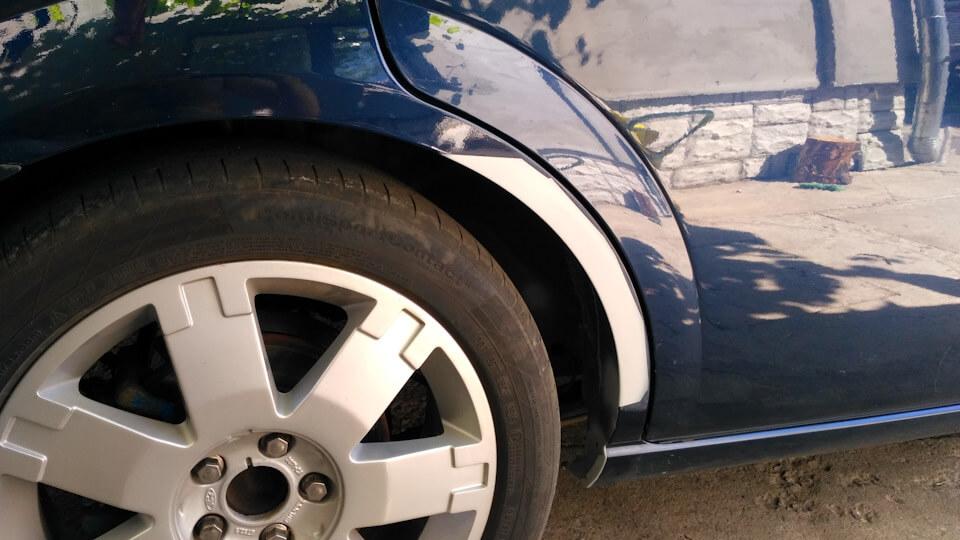 Ремонт арки автомобиля